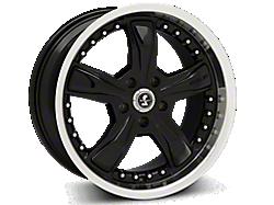 Black Shelby Razor Wheels<br />('05-'09 Mustang)