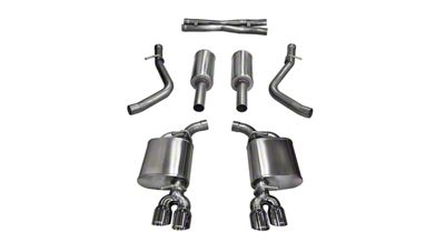 Corsa Sport Cat-Back Exhaust w/ Twin Polished Round Tips (15-16 5.7L HEMI)