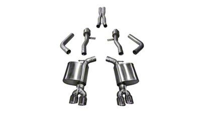 Corsa Sport Cat-Back Exhaust w/ Twin Polished Round Tips (15-19 6.2L HEMI)