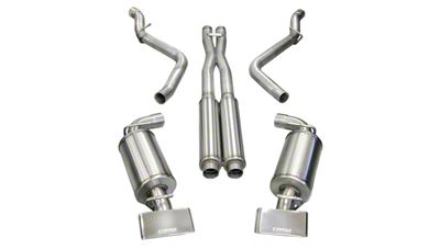 Corsa Xtreme Cat-Back Exhaust w/ Polished Rectangular Tips (08-10 6.1L HEMI)