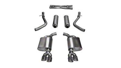 Corsa Xtreme Cat-Back Exhaust w/ Twin Polished Round Tips (15-16 5.7L HEMI)