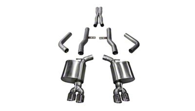 Corsa Xtreme Cat-Back Exhaust w/ Twin Polished Round Tips (15-19 6.2L HEMI)