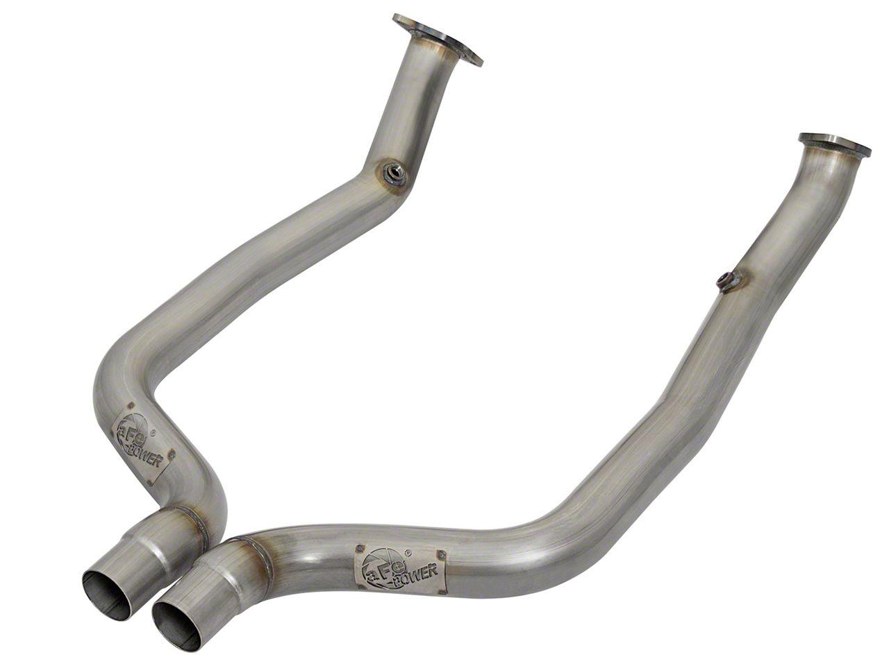 AFE 3 in. Twisted Steel Off-Road Mid-Pipe - Race Series (15-18 6.2L HEMI, 6.4L HEMI)