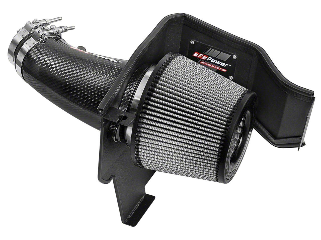 AFE Magnum FORCE Stage 2 Pro DRY S Track Series Cold Air Intake - Carbon Fiber (11-18 6.4L HEMI)