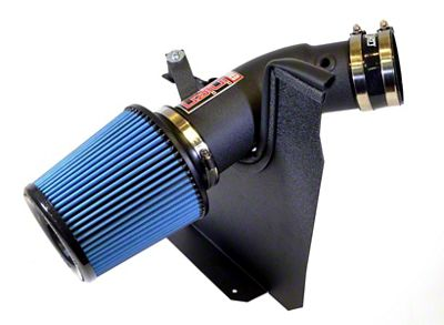 Injen Power-Flow Cold Air Intake - Wrinkle Black (11-19 6.4L HEMI)