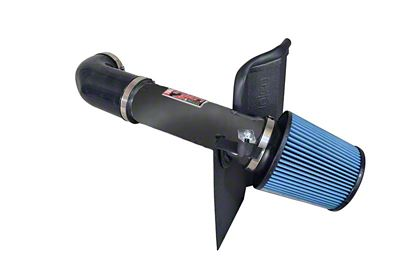 Injen Power-Flow Cold Air Intake w/ Heat Shield - Wrinkle Black (09-19 5.7L HEMI)