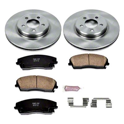 Power Stop OE Replacement Brake Rotor & Pad Kit - Front (09-10 SE; 2011-19 SE, SXT w/ Single Piston Front Calipers)