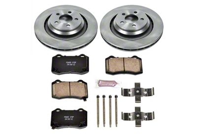 Power Stop OE Replacement Brake Rotor & Pad Kit - Rear (08-14 SRT8; 15-19 SRT 392, Scat Pack, Hellcat)