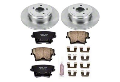 Power Stop OE Replacement Brake Rotor & Pad Kit - Rear (09-10 SE; 2011-19 SE, SXT w/ Single Piston Front Calipers)