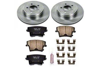 Power Stop OE Replacement Brake Rotor & Pad Kit - Rear (09-19 R/T; 11-19 SE, SXT w/ Dual Piston Front Calipers)