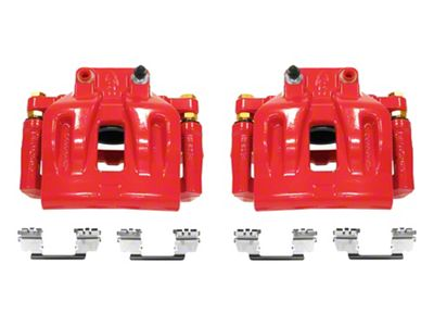 Power Stop Performance Front Brake Calipers - Red (12-18 SXT w/ Single Piston Front Calipers)