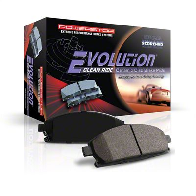Power Stop Z16 Evolution Clean Ride Ceramic Brake Pads - Front Pair (08-14 SRT8; 15-16 Scat Pack; 2017 R/T 392; 18-19 w/ 4-Piston Front Calipers)