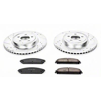 Power Stop Z23 Evolution Sport Brake Rotor & Pad Kit - Front (09-19 R/T; 11-19 SE, SXT w/ Dual Piston Front Calipers)