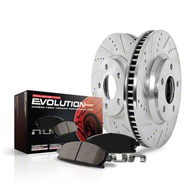 Power Stop Z23 Evolution Sport Brake Rotor & Pad Kit - Front (15-19 SRT 392, Hellcat)