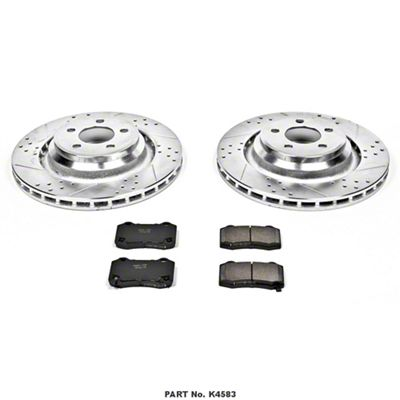 Power Stop Z23 Evolution Sport Brake Rotor & Pad Kit - Rear (08-14 SRT8; 15-19 SRT 392, Scat Pack, Hellcat)