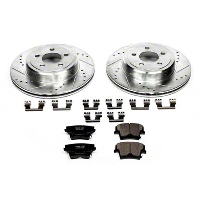 Power Stop Z23 Evolution Sport Brake Rotor & Pad Kit - Rear (09-19 R/T; 11-19 SE, SXT w/ Dual Piston Front Calipers)