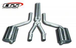CGS Motorsports Aluminized Cat-Back Exhaust (08-10 6.1L HEMI)