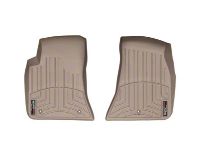 Weathertech DigitalFit Front Floor Liners - Tan (11-14 All)
