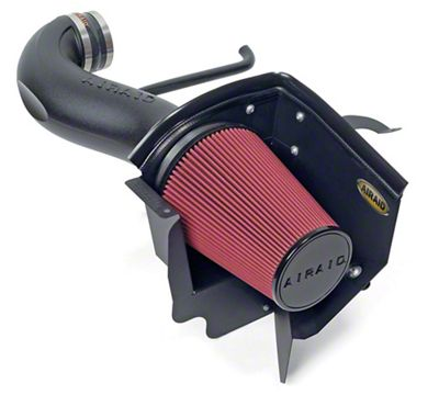 Airaid Cold Air Dam Intake w/ Red SynthaMax Dry Filter (08-10 5.7L HEMI, 6.1L HEMI)