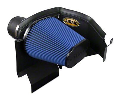 Airaid Cold Air Dam Intake w/ Blue SynthaMax Dry Filter (11-19 3.6L, 5.7L HEMI, 6.4L HEMI)