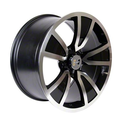 Hurst Stunner Black Machined Wheel - 20x10 (08-19 All)