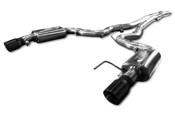 Kooks Cat-Back Exhaust & X-Pipe w/ Black Tips (15-19 5.7L HEMI)