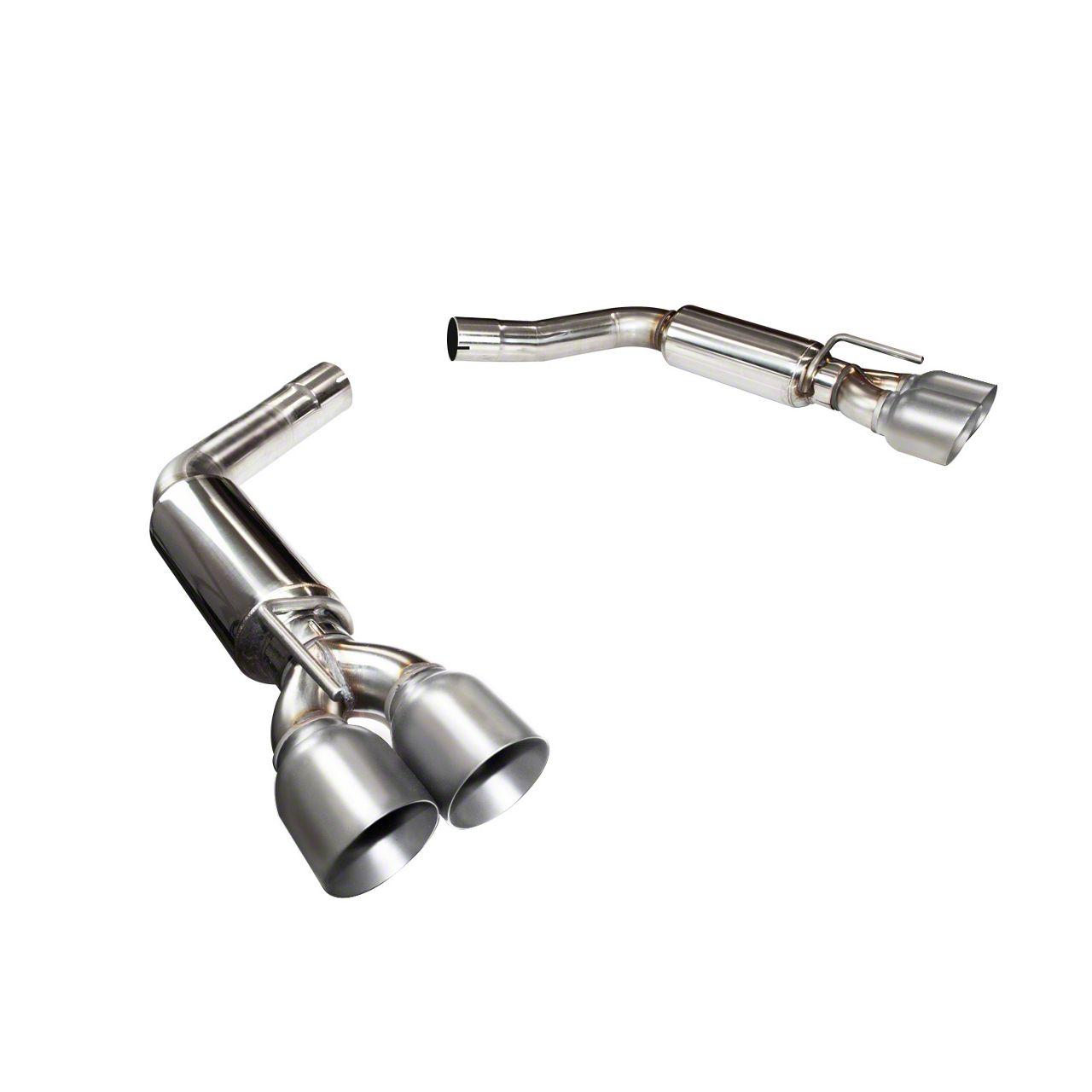 Kooks Axle-Back Exhaust w/ Polished Tips (15-19 6.2L HEMI)
