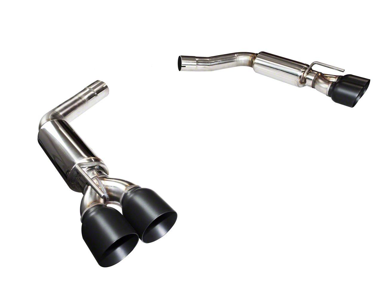 Kooks Axle-Back Exhaust w/ Black Tips (15-19 6.2L HEMI)