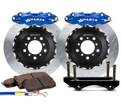 Sparta Evolution Triton-R Rear Big Brake Kit - Signature Blue (08-19 All)