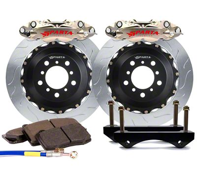 Sparta Evolution Triton-R Rear Big Brake Kit - Nickel Alloy (08-19 All)