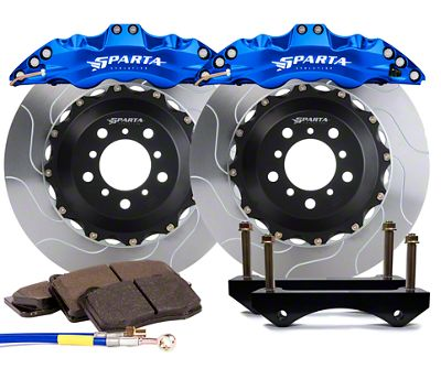 Sparta Evolution Triton Front Big Brake Kit - Anodized Signature Blue (08-19 All)