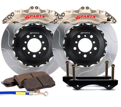Sparta Evolution Triton Front Big Brake Kit - Nickel Alloy (08-19 All)