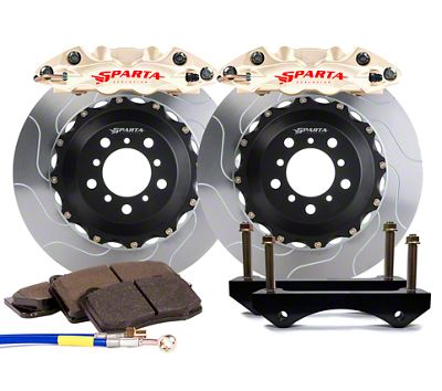Sparta Evolution Triton Rear Big Brake Kit - Nickel Alloy (08-19 All)