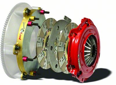 McLeod RXT Twin Disc 1200HP Clutch - 26 Spline (08-10 V8 HEMI; 13-19 V8 HEMI)