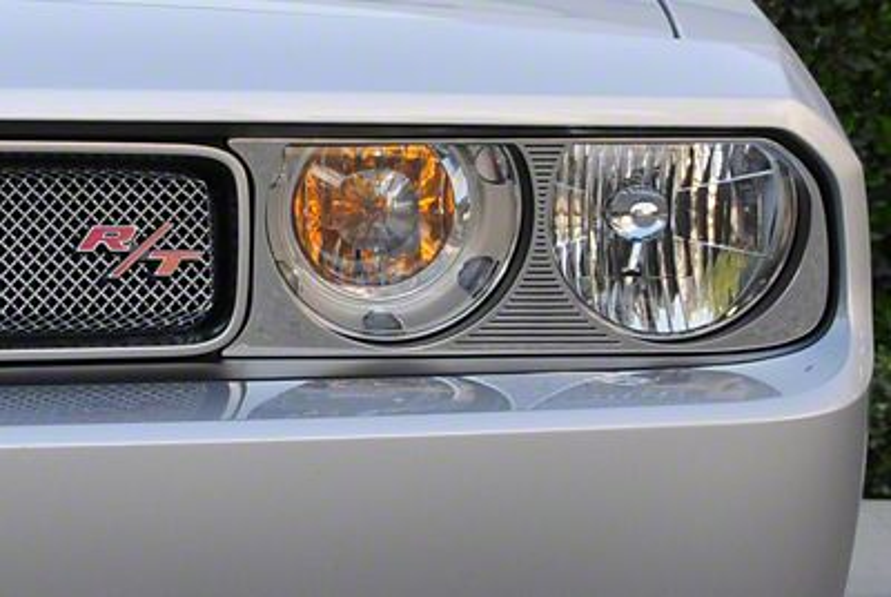 T-REX T1 Series Headlight Bezel Surround - Polished (08-14 All)
