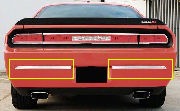 T-REX T1 Series Rear Bumper Trim - Polished (08-14 All)