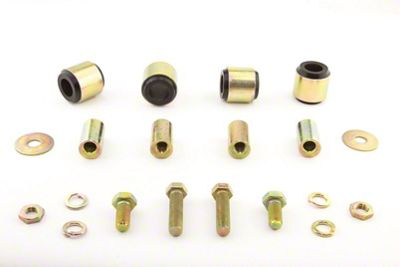 Whiteline Rear Upper Control Arm Bushing Kit - 39.6mm (08-19 All)