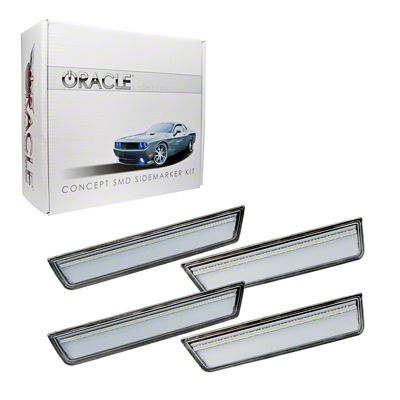 Oracle Clear Concept LED Side Marker Kit - Unpainted (08-14 All)