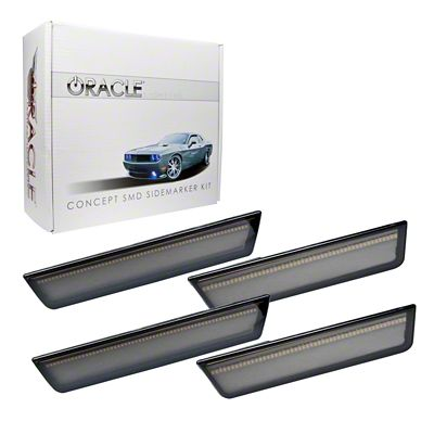 Oracle Tinted Concept LED Side Marker Kit - Unpainted (08-14 All)
