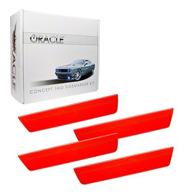 Oracle Ghosted Concept LED Side Marker Kit - Pre-Painted (08-14 All)