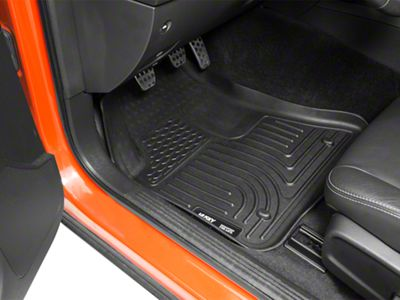 Husky WeatherBeater Front & Row Floor Liners - Black (11-15 All)