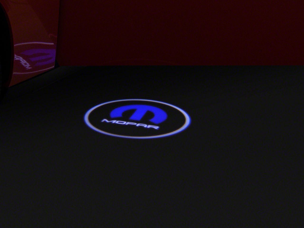 Oracle LED Door Projectors - MOPAR Logo (08-19 All)