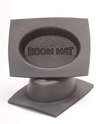 Boom Mat Speaker Baffles - 4x6 in. Oval Slim (08-18 All)