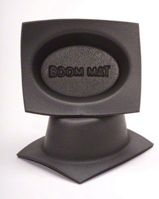 Boom Mat Speaker Baffles - 6x9 in. Oval (08-18 All)