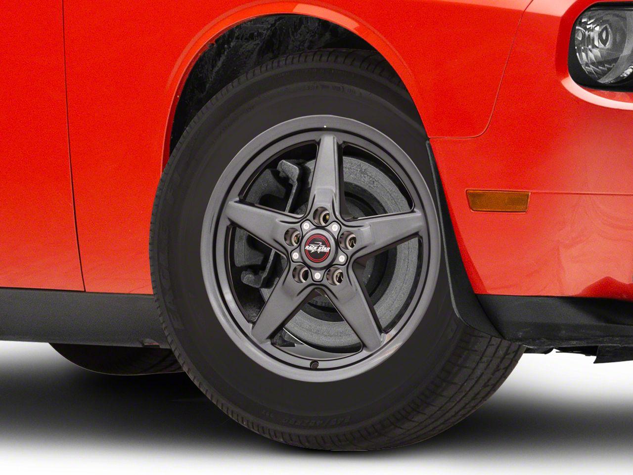 Race Star 92 Drag Star Bracket Racer Metallic Gray Wheel - 17x4.5 (08-18 All, Excluding Demon & Hellcat)