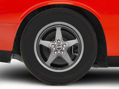 Race Star 92 Drag Star Bracket Racer Metallic Gray Wheel - 17x9.5 (08-19 All)