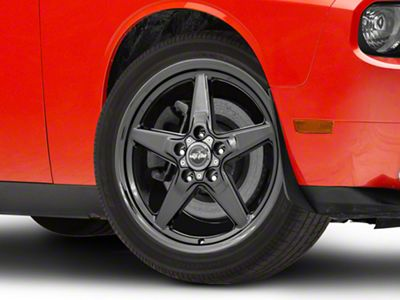 Race Star 92 Drag Star Dark Star Black Chrome Wheel - Direct Drill - 17x4.5 (08-19 All, Excluding Demon & Hellcat)