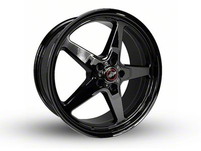 Race Star 92 Drag Star Dark Star Black Chrome Wheel - Direct Drill - 20x9 (08-19 All, Excluding Demon & Hellcat)