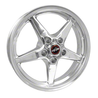 Race Star 92 Drag Star Polished Wheel - Direct Drill - 17x4.5 (08-19 All, Excluding Demon & Hellcat)