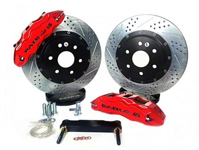 Baer Extreme Plus Front Brake Kit - Red (08-14 SRT8)